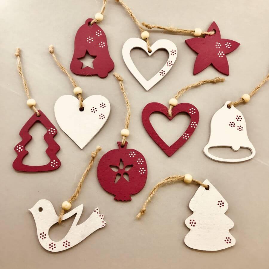 Vánoční ozdoby – Rojo