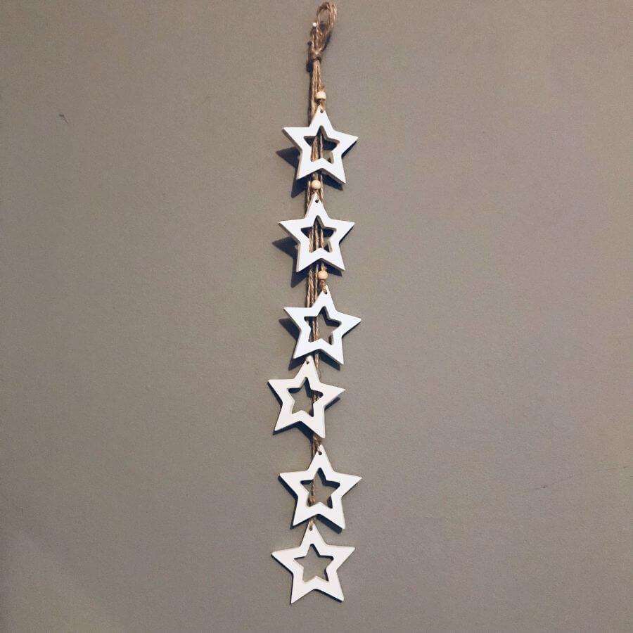 Závěs hvězdičky