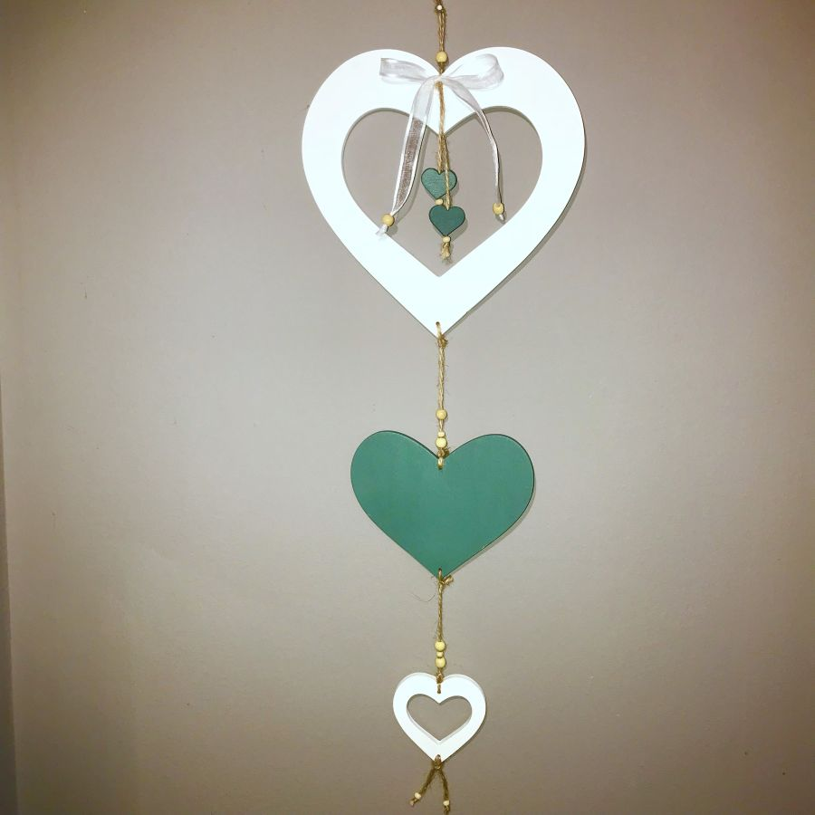 Závěs srdce