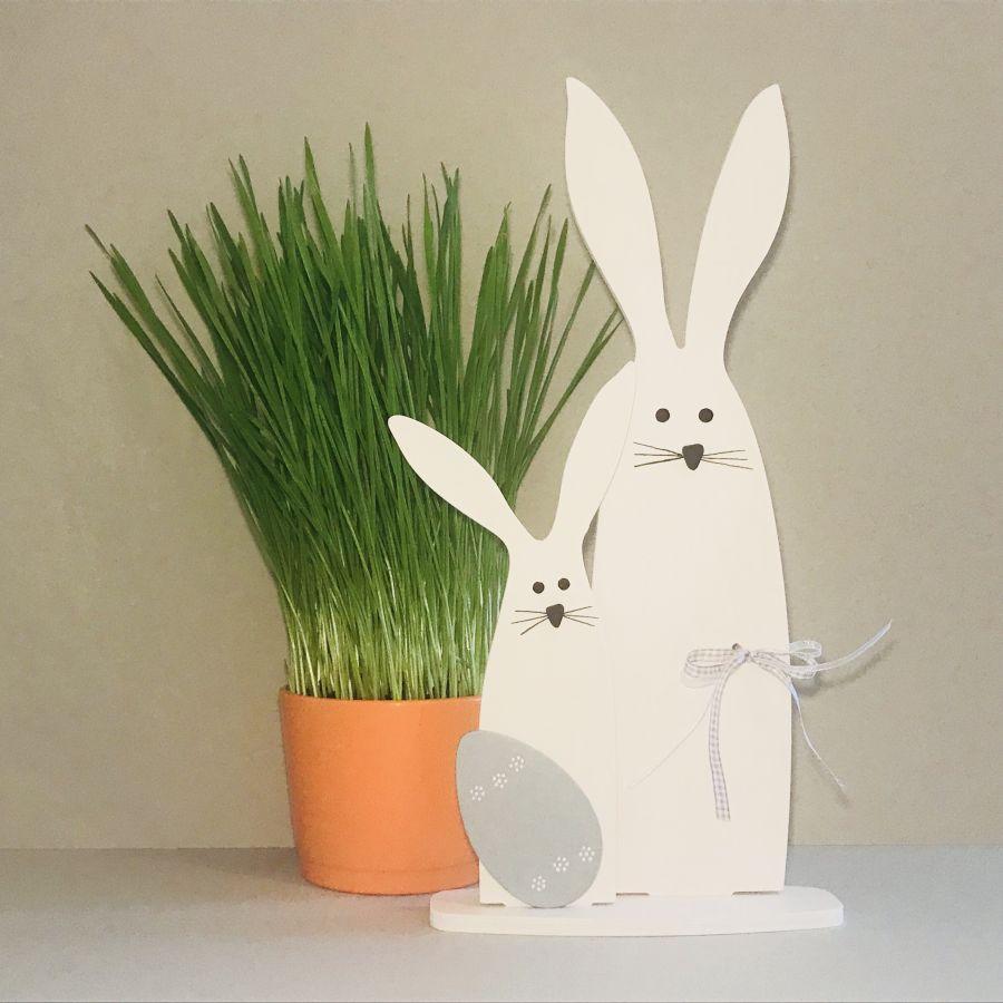 Velikonoční zajíc máma a zajíček