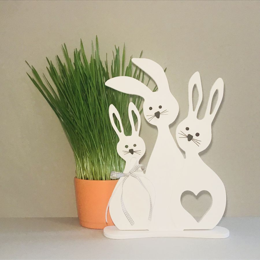 Velikonoční zajíčci – rodina